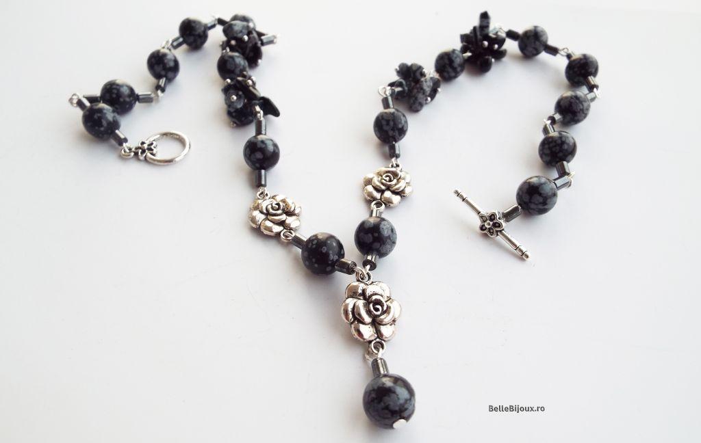 Obsidian si hematit